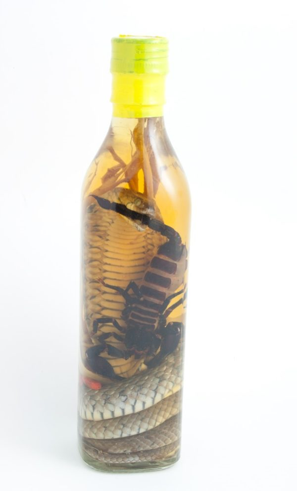 SCORPION WHISKEY EXPRESS DELIVERY GIFT